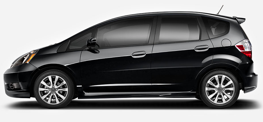 2014 Honda Fit black