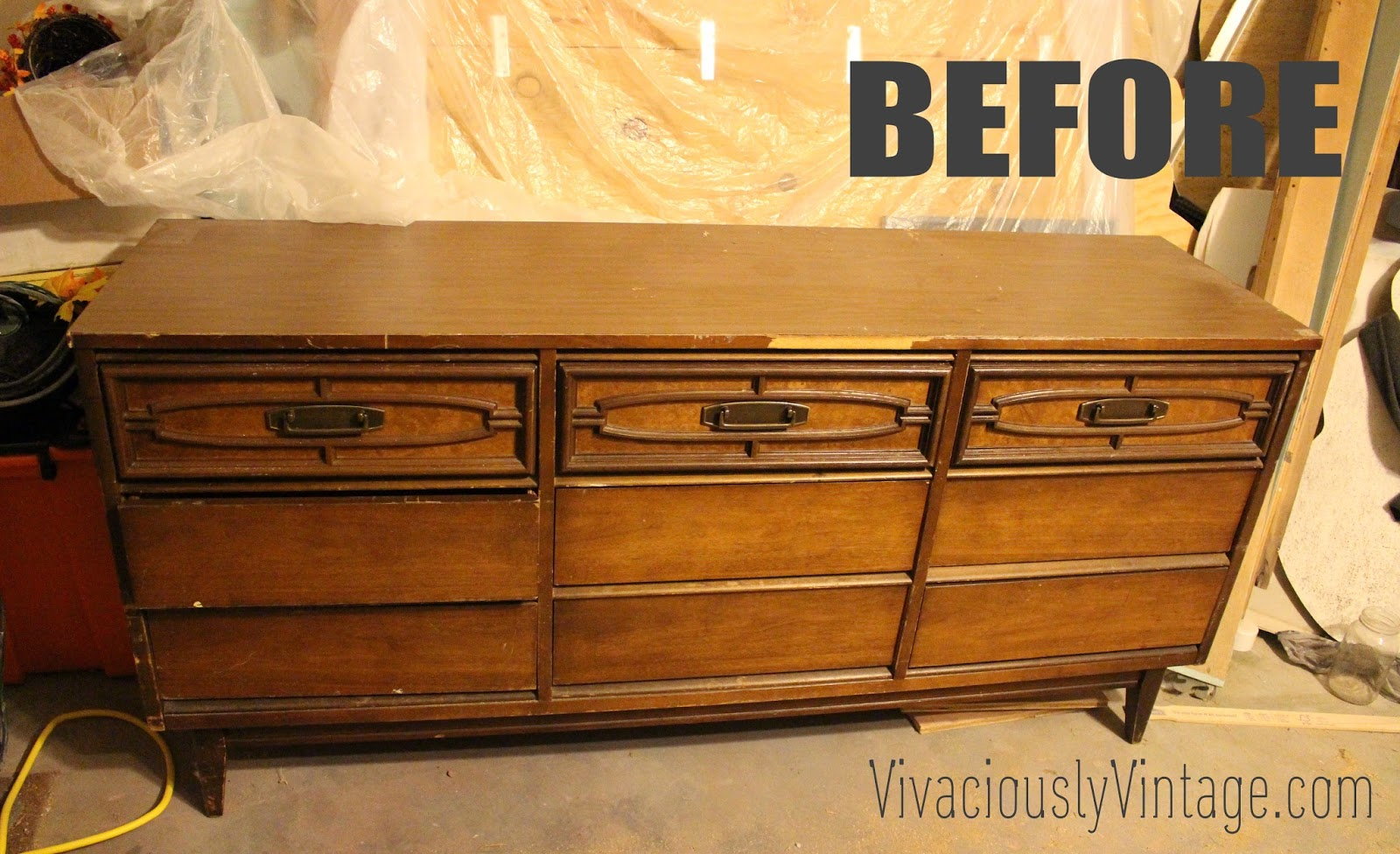 "What Is Mid Century Furniture ansley designs: 2 tone mid century modern ""avante"" bassett dresser"
