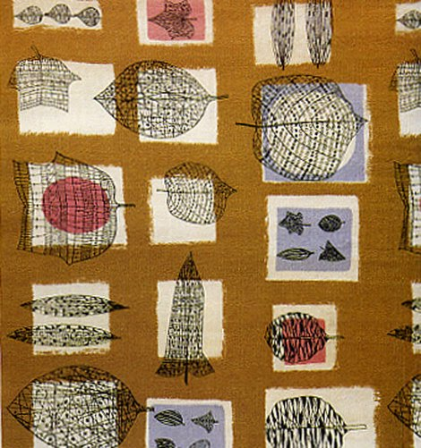 Many Nice Things: 1950s Fabric Design