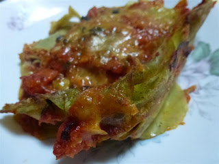lasagne verdi con le canocchie