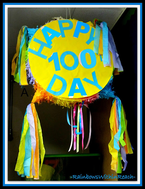 photo of: 100 Day Party Parade Drum (via 100 Day RoundUP at RainbowsWithinReach)