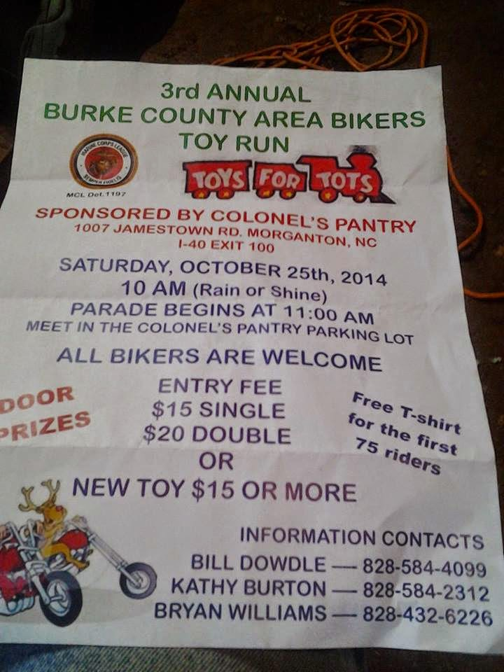 Burke County Toy Run