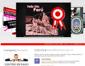 Resultados CUARTO examen FINAL CEPRE UNAC 2014 I, domingo 20 de Julio