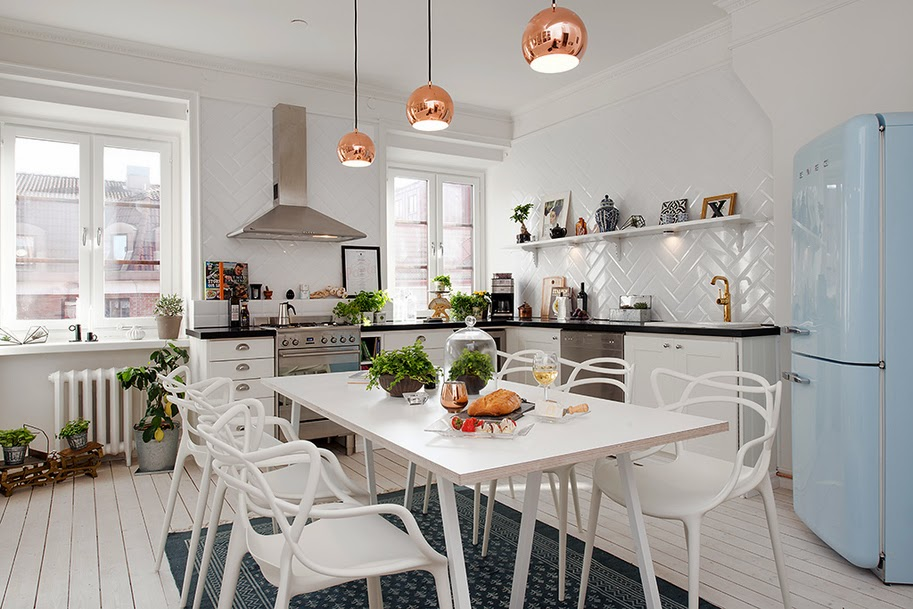 Wonderful kitchens. Cocinas maravillosas