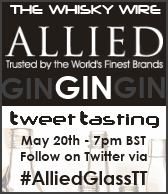 Allied Glass Gin Tweet Tasting
