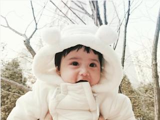 gambar baby comel korea