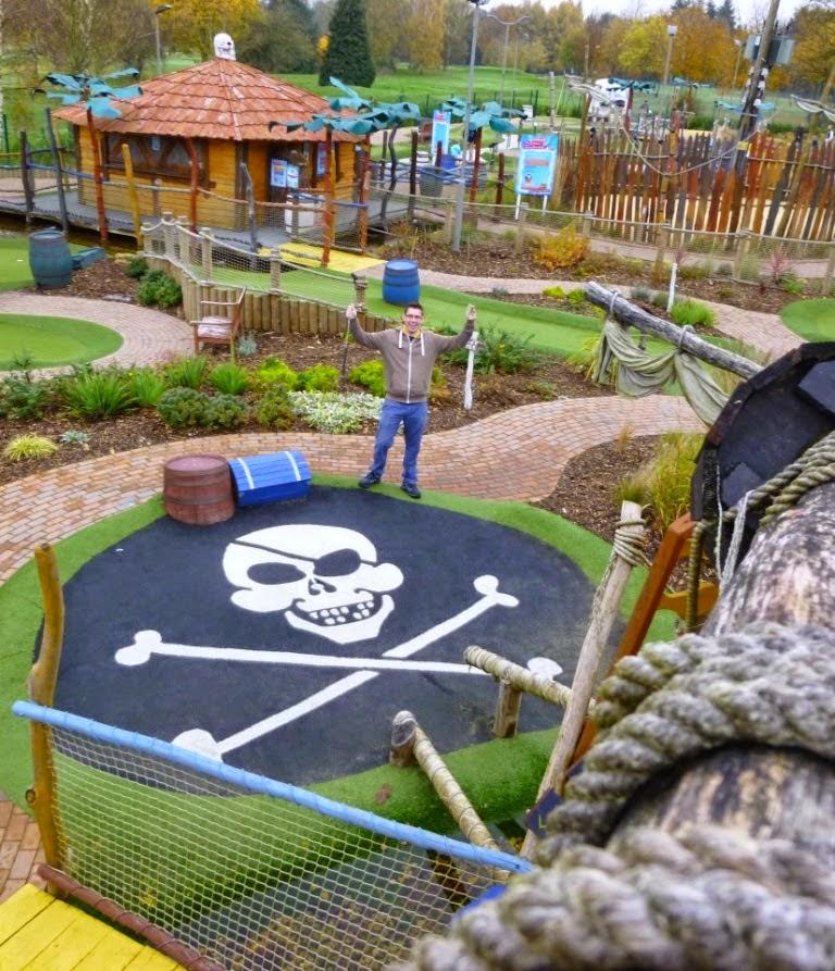 Adventure Mini Golf at Hoebridge Golf Centre in Woking