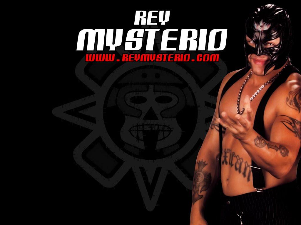 rey mysterio wwe champion wallpaper