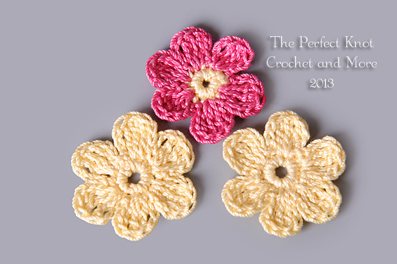 The Perfect Knot Crochet And More SixPence Flowers Applique Impressive Applique Patterns Flowers