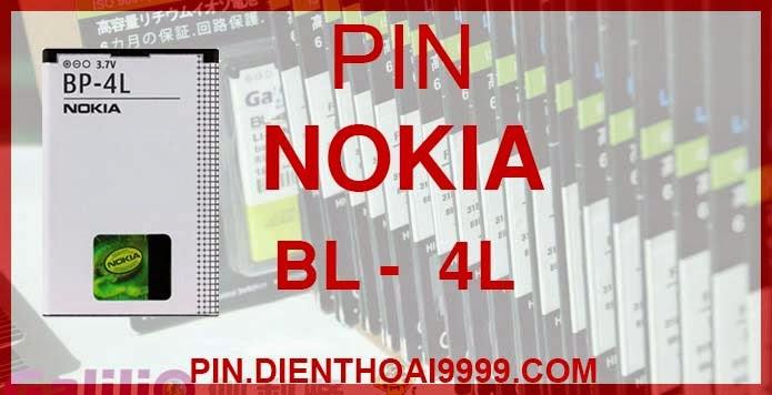 Pin BL 4L dung lượng cao - Pin Chính hãng / Pin Galilio BL-4L dung lượng cao 1500 mAh - Giá Pin BL 4L chính hãng 160K - Giá pin BL 4L dung lượng cao giá 140K - Bảo hành: 6 tháng  - Pin tương thích với điện thoại Nokia  6650 T-Mobile/ 6760s/ 6790/ E52/ E55/ E6 / E6-00/ E61i/ E63/ E71/ E71x/ E72/ E72i/E73/ E90/ E95/ N97/ N97i/ FPT F99  Thông số kĩ thuật: - Pin BL - 4L được thiết kế kiểu dáng và kích thước y như pin nguyên bản theo máy, Pin tiêu chuẩn, chất lượng như pin theo máy. - Kích thước: 66 mm x 44 mm x 5 mm - Dung lượng: 150 mAh - Điện thế: 3.7V - Công nghệ: Pin Li-ion Battery  Mô tả sản phẩm: - Pin Galilio nhờ nghiên cứu và phát triển công nghệ lithium nên đã đạt được pin dung lượng cao nhất cho phép (từ 1,5- 2 lần) nhưng vẫn đảm bảo được chất lượng cao, đã vượt qua nhiều tiêu chuẩn chất lượng như ISO 9001, ISO 1400I, CERTIFICATED, hãng cũng ứng dụng Công Nghệ an toàn mà những hãng pin khác không có được: Controller IC, Control swithches, Temperature Fuse.. - Thiết kế kiểu dáng và kích thước y như pin nguyên bản theo máy, thuận tiện và dễ dàng thao tác, pin dung lượng cao cung cấp đủ nguồn điện cho máy sử dụng được trong thời gian dài, có thể mang đi bất cứ đâu để phòng khi pin của máy bạn hết mà không có điều kiện để sạc. - Cho phép bạn giữ các cuộc nói chuyện và bảo đảm cho bạn không bỏ lỡ các cuộc gọi điện thoại quan trọng - Pin sạc bằng cách gắn vào điện thoại và sạc như pin gốc - Sản phẩm đạt tiêu chuẩn tuyệt đối về an toàn cháy nổ - Bảo hành đổi pin mới trong 6 tháng.  GIAO HÀNG VÀ BẢO HÀNH TẬN NHÀ  Quý khách có nhu cầu mua pin,  hãy liên hệ với chúng tôi:  0904.691.851 - 0976.997.907  Website: http://pin.dienthoai9999.com Mua số lượng lớn: 0942299241  - Hướng dẫn sử dụng, bảo quản pin: http://pin.dienthoai9999.com/p/huong-dan-su-dung-pin - Quy định bảo hành: http://pin.dienthoai9999.com/p/quy-dinh-bao-hanh-pin - Khách hàng góp ý: http://pin.dienthoai9999.com/p/khach-hang-gop-y