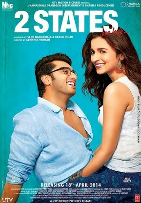 2 States (2014) Full movie HD mp4 Video Songs Download
