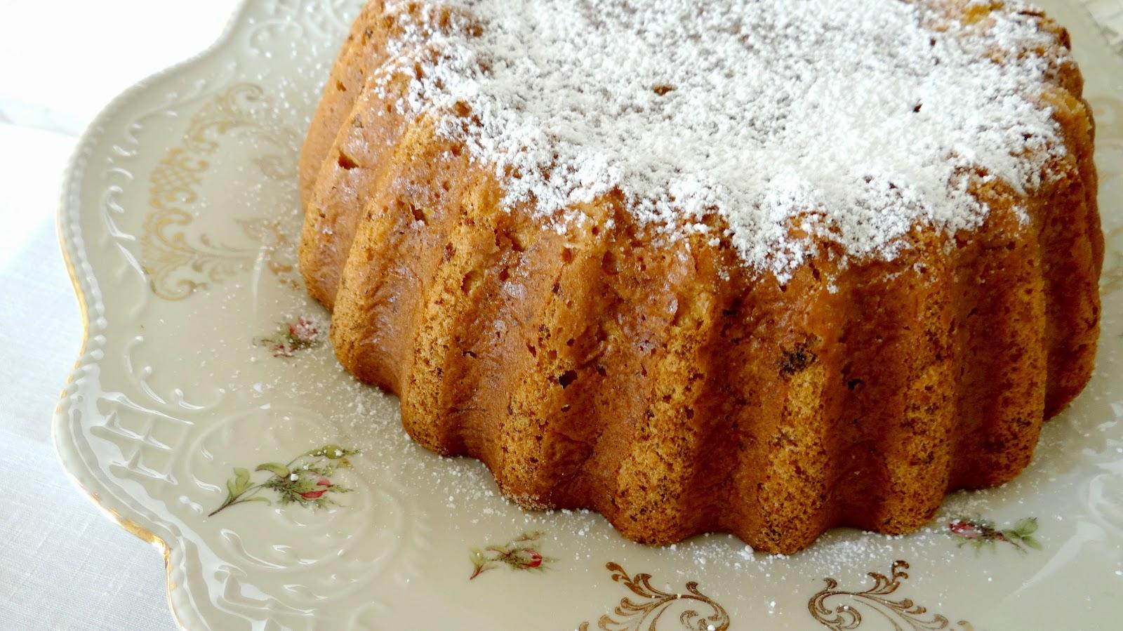 torta di zucca, agrumi e zenzero