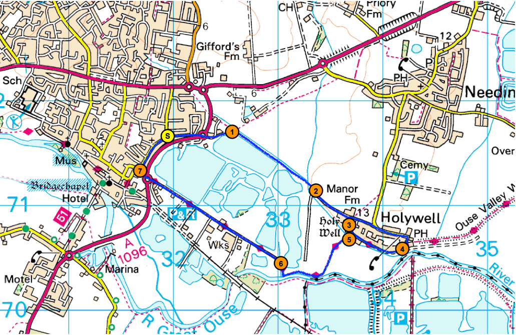 Cambridgeshire walks: St Ives to Holywell