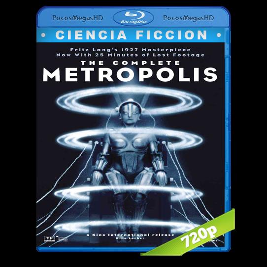 Metrópolis (Versión completa [2010]) (1927) BrRip 720p Cine Mudo Audio AAC +subs
