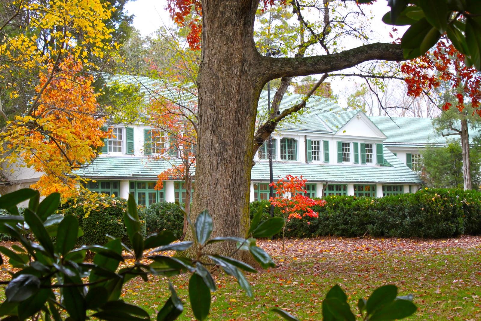 A Fall Day At Reynolda Gardens