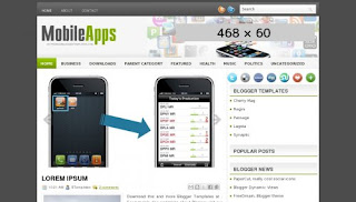 MobileApps Blogger Template
