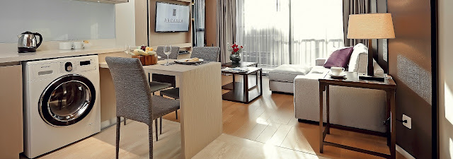 Arcadia Suites Bangkok 曼谷阿卡迪亞套房酒店 2臥室套房