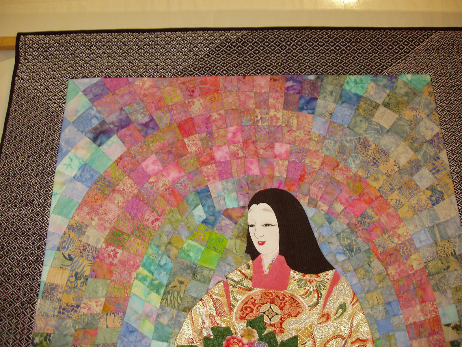 sashiko and other stitching: The Japanese quilts at Sandown Park : sandown quilt show - Adamdwight.com