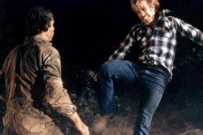Furia silenciosa, Chuck Norris