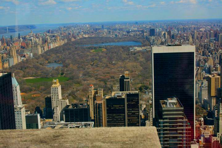 central park nueva new york tor view