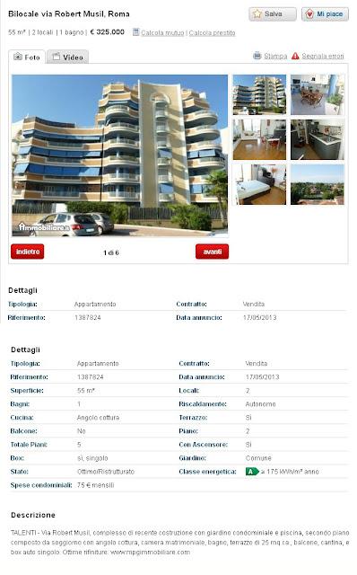 Immobiliare Appartamento Via Di Villa Emiliani   Mq