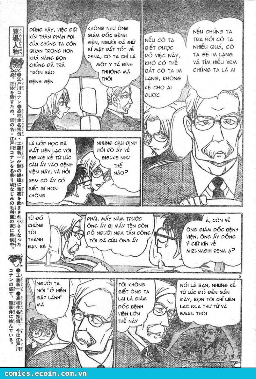 Detective Conan - Thám Tử Lừng Danh Conan chap 596 page 5 - IZTruyenTranh.com