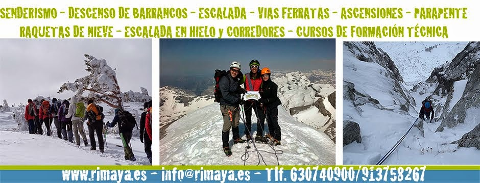 RIMAYA - Actividades de Montaña