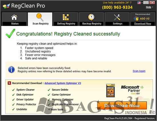 SysTweak RegClean Pro 6.21 Full Crack 4