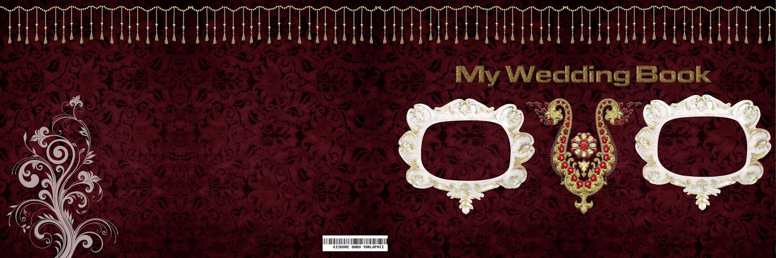 12X36 Wedding Album Cover Page