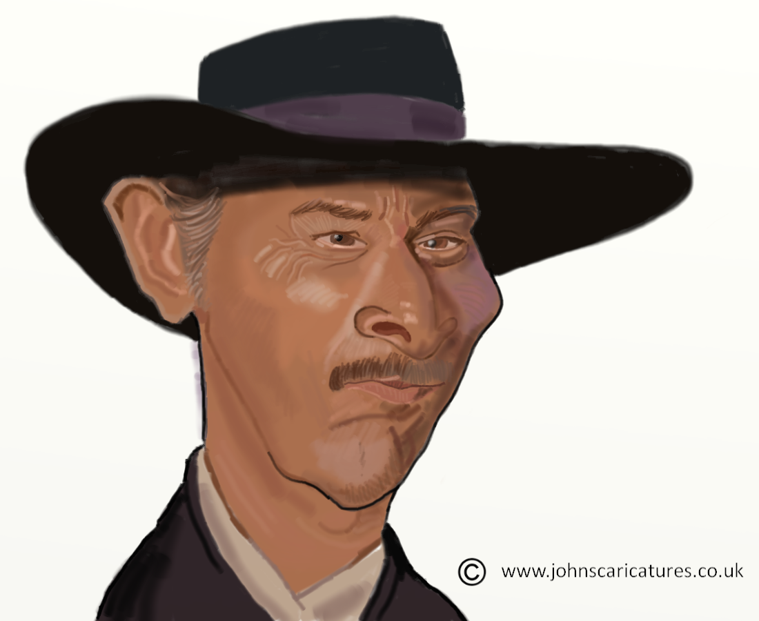 The Art of John Fisher: Lee Van Cleef