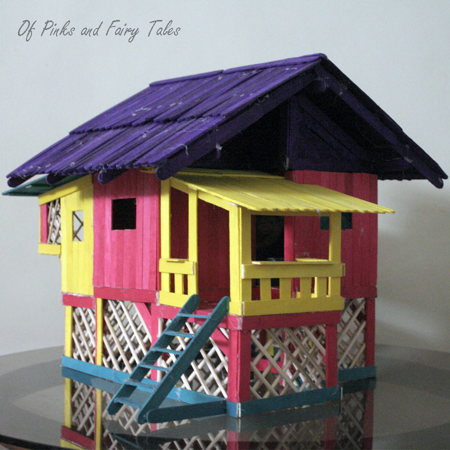 Popsicle Stick Houses Designs