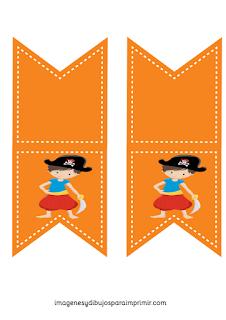 invitaciones de piratas para imprimir