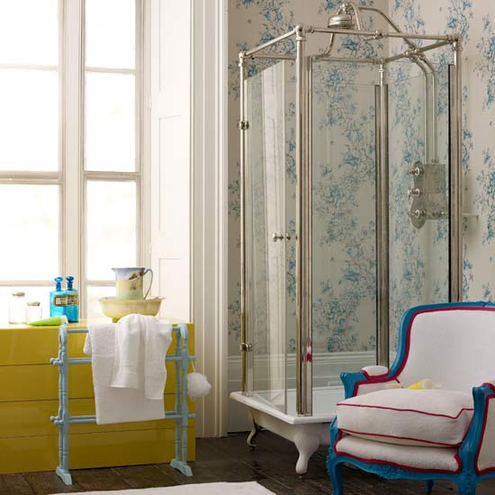 So you want a vintage bathroom, but still want the convenience of a ...