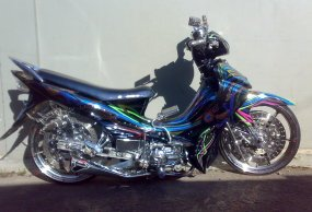 Modifikasi Motor Jupiter Z 2009