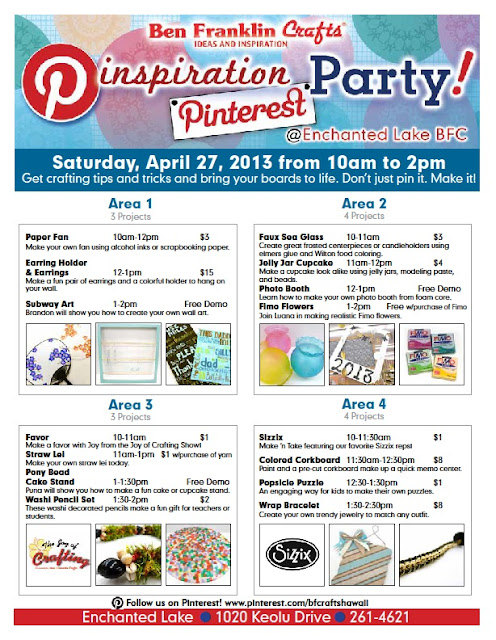 Pinterest Pinspiration Party