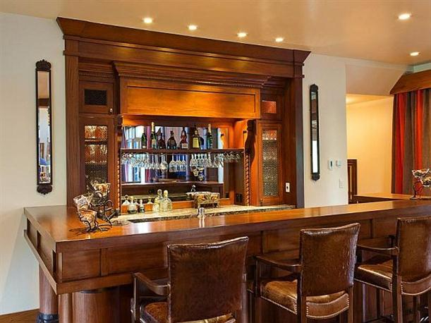 Modern architecture living room bar - Family room bar designs ...