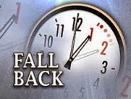 Daylight Saving Time Sunday, November 2