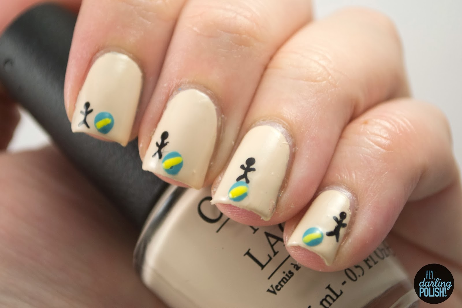 nails, nail art, nail polish, polish, animation, nail art a go go, hey darling polish