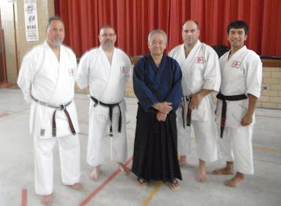 Yamanni Ryu seminar - 8/13/11