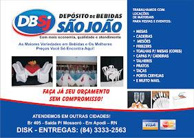 DEPOSITO DE BEBIDAS SÃO JOÃO