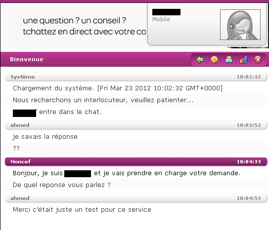 tchat mobile sans inscription Thionville