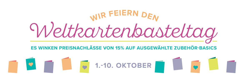 Weltkartenbasteltag vom 01. - 10. Oktober