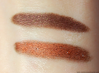 Sephora Collection Flashy Liner Waterproof in 06 Flashy Brown and 16 Flashy Ultra Brown Swatches