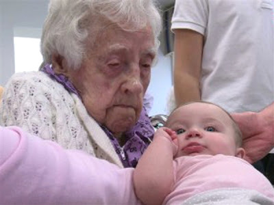 World's oldest person - Dina Manfredini titled in age 115