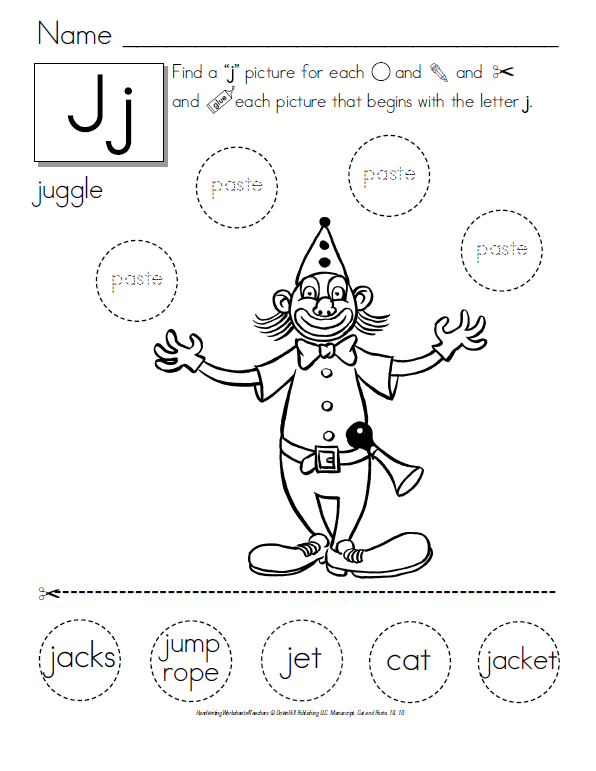 math worksheet : tpt  fonts 4 teachers march 2014 : Color Cut And Paste Worksheets For Kindergarten