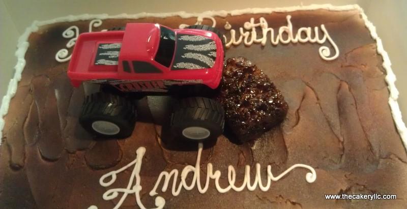 Pickup Truck Cake Template