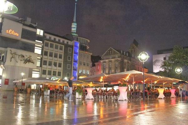 Dortmund nocą