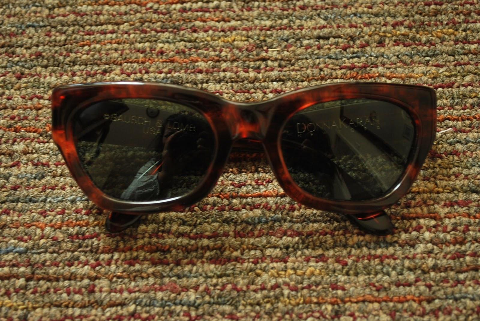 Donna Karen Cat Eye Sunglasses