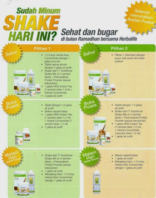 Program Diet Herbalife 10 Hari