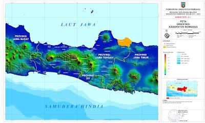 Peta Orientasi Kabupaten Rembang